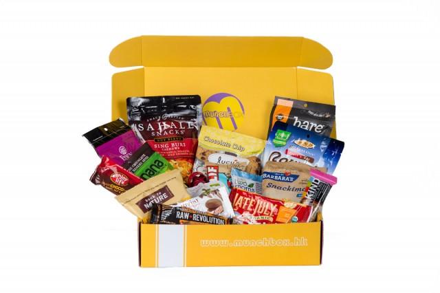 香港のヘルシースナック定期購入サービス「MunchBox」のサンプル Copyright (c) MunchBox All Rights Reserved.