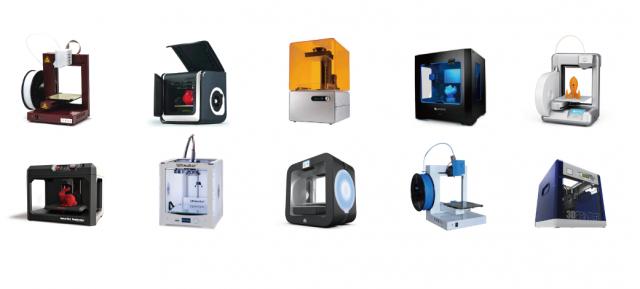 3D-printer-network-printers