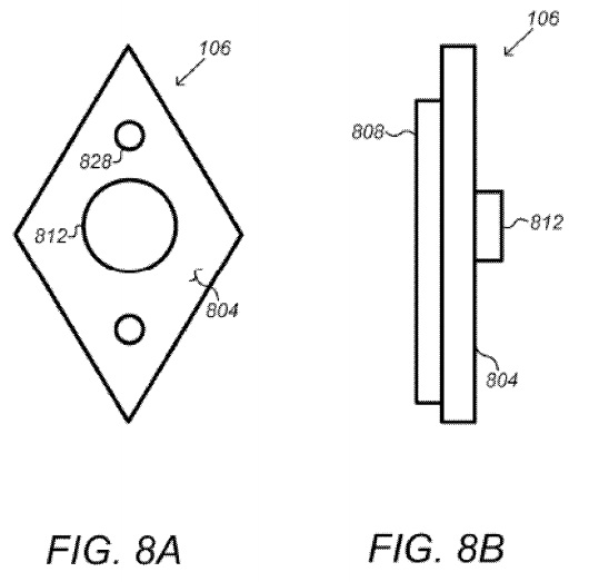 "Above: Google's smart doorbell concept, in the patent application ""Security Scoring in a Smart-Sensored Home."" Image Credit: Screen shot"