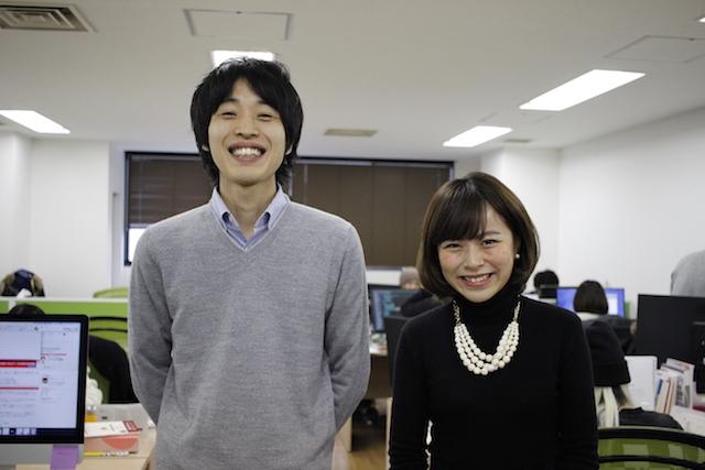 右からスクー代表取締役 森健志郎氏、同社経営企画室 田中怜氏