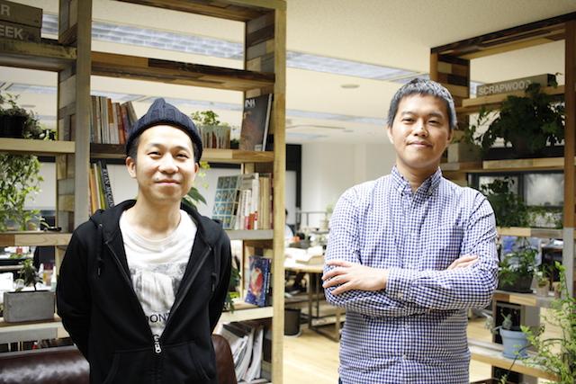 左:Showcase Gig プロデューサー中野彰氏 右:Showcase Gig 代表取締役 新田剛史氏