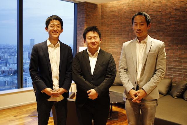 左から:プライマルキャピタル代表パートナー佐々木浩史氏、シナプス代表取締役田村健太郎氏、DeNA 戦略投資推進室室長 原田明典氏
