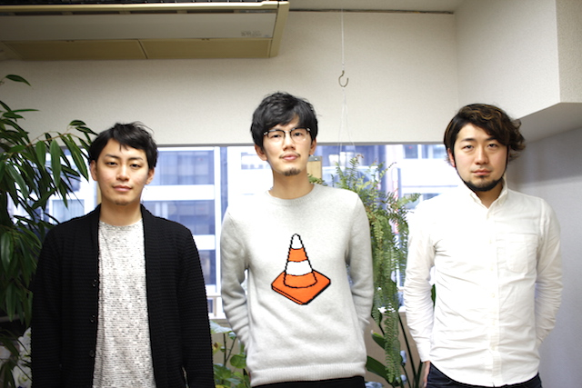 左から:ツクルバCEO 村上浩輝氏、佐藤裕介氏、同社CCO中村真広氏