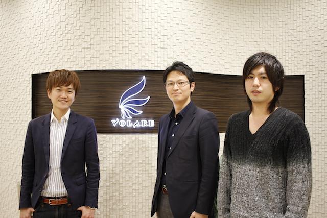 左から:フリークアウト飽浦尚氏、ヴォラーレ大谷昌史氏、土居健太郎氏