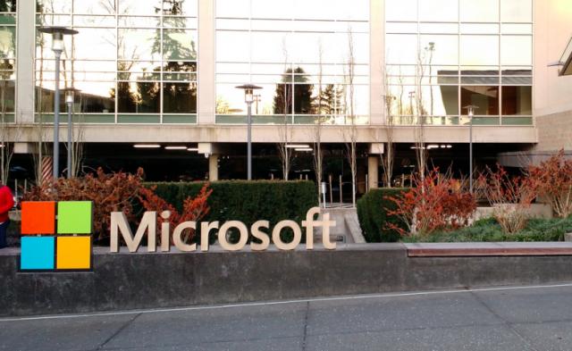 Above: Microsoft campus sign Image Credit: Jordan Novet/VentureBeat