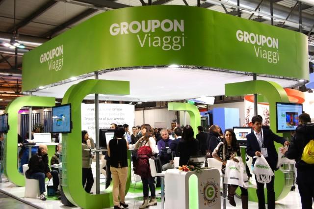 観光業界の国際見本市「Bit.2015」に出展したGroupon Viaggi