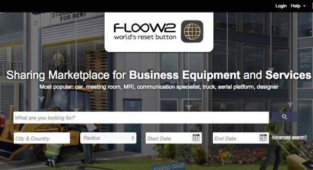 B2B特化型の資産シェアリングプラットフォーム「Floow2」