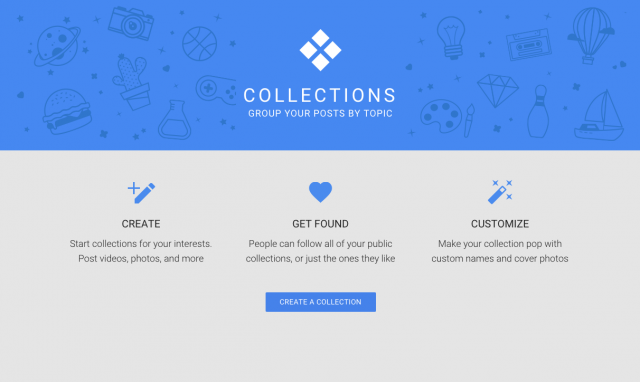 Google+ collection
