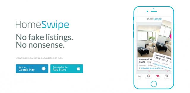 家探しのTinder的アプリ 「HomeSwipe」