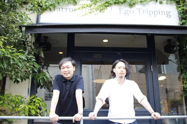 左:COUNTERWORKS代表取締役の三瓶直樹氏 右:同社CCOに就任する山本 健人氏