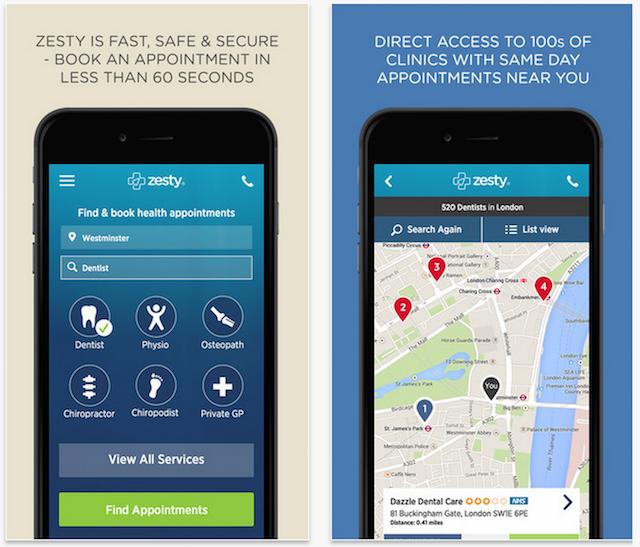 Zesty app