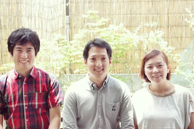 中野さん(左)、姜さん(中央)、垂井さん(右)