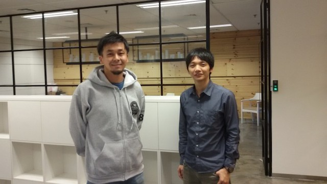 Takahiro Suzuki (left) and Steven Vanada (right) of CyberAgent Ventures in Indonesia