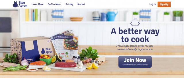 BlueApron-website