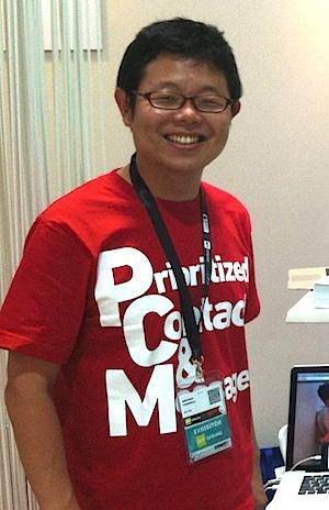代表取締役の吉永浩和氏。