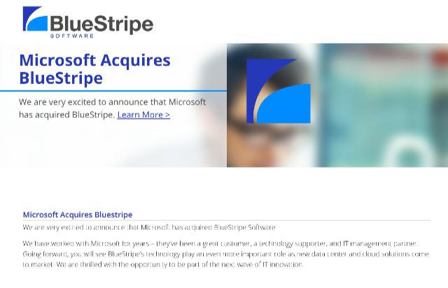 Microsoft_Acquires_BlueStripe_-_BlueStripe