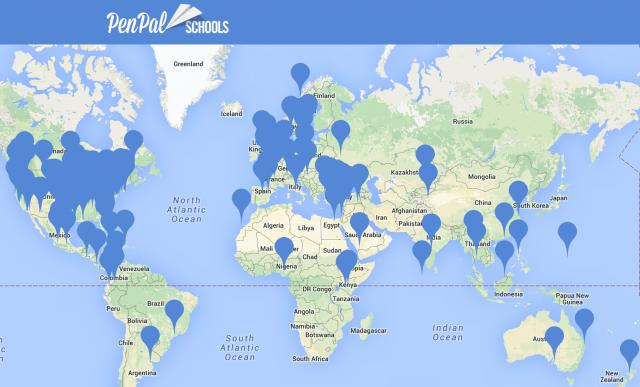 世界中の生徒を繋げる「Penpal Schools」
