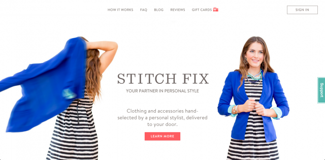 Stich-Fix-website