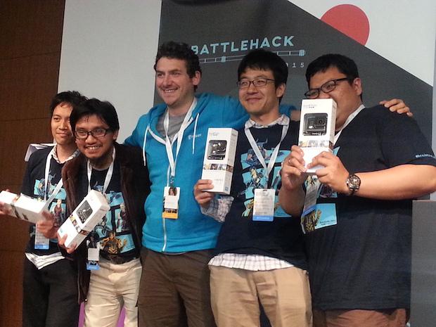 battlehack-tokyo-cubefit_winner