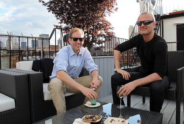 Henry Blodget (Business Insider) and Nick Denton (Gawker) by Financial Times, on Flickr
