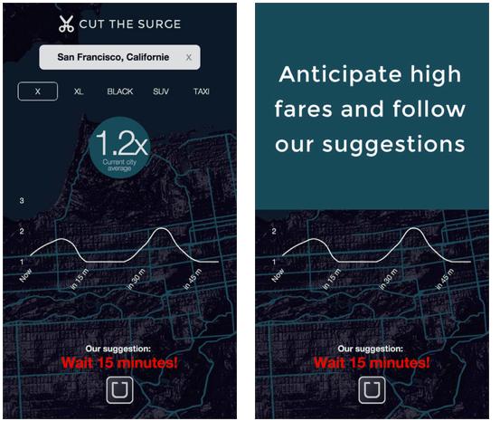 Cut the Surge app