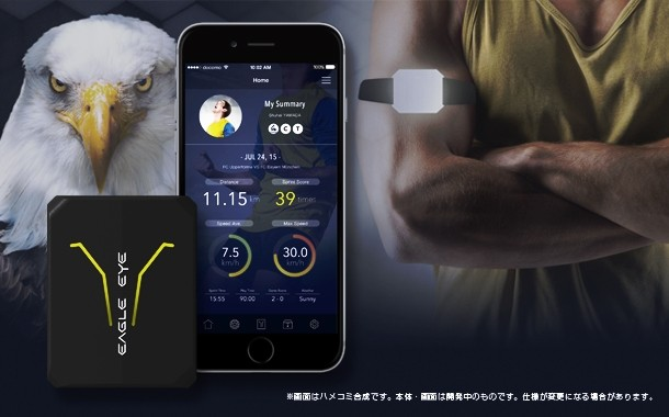 Makuakeでプロジェクトを開始したモーション・ロガー「Eagle Eye」