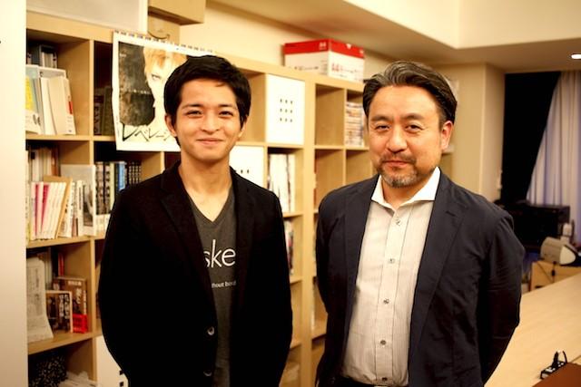 左から、Taskey株式会社 代表取締役 沼澤 健人氏、上ノ空 代表取締役 横里 隆氏