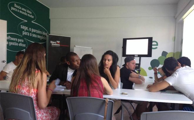 Above: A meeting room at Startup Lisboa. Image Credit: Startup Lisboa