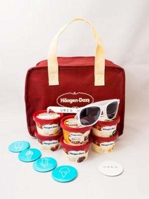 オンデマンドで届くアイスクリーム