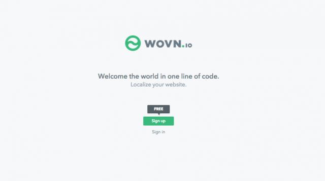 たった一行のスクリプトでウェブサイトを多言語化できる「WOVN.io」