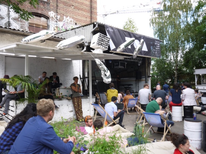 ガーデンステージではピッチコンテストも繰り広げられた。