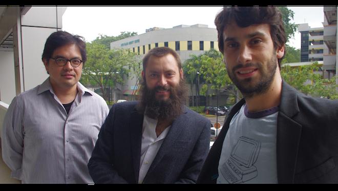 Golden Gate Venturesの設立パートナー、左からJeffrey Paine氏、Paul Bragiel氏、Vinnie Lauria氏