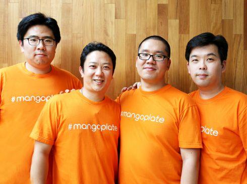 MangoPlate Co-founders (L-R): Danny Ryu Ho-seok, Joon Oh, Bernard Kim Dae-woong, and Michael Roh