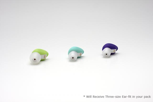 耳栓型の基礎体温計「YONO」