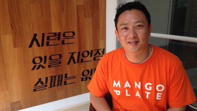 MangoPlateのCo-CEO、Joon Oh氏