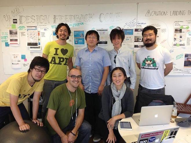 AppSociallyのメンバーとして、500 Startupsに参加した堤修一さん(左)