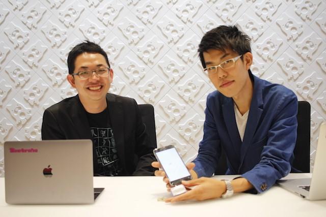 左:Beatrobo CEO 浅枝大志氏 右:シロク取締役CCO 石山貴広氏
