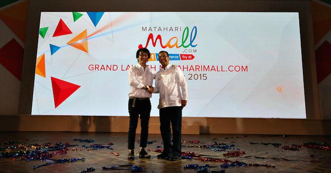 上:Matahari Mall のローンチ