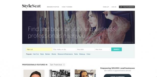 StyleSeat-website