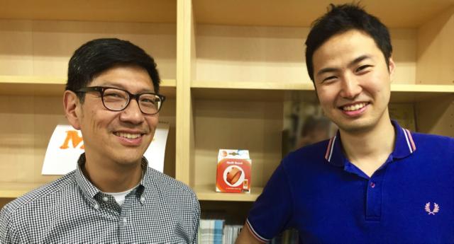 写真左:Moff USA 新CEO Albert B. Chu氏、写真右:Moff CEO 高萩昭範氏