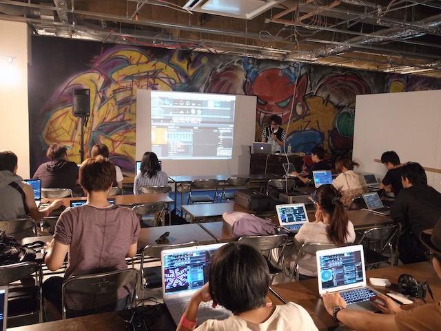 明星和楽2012(福岡)、ワークショップ実施の模様
