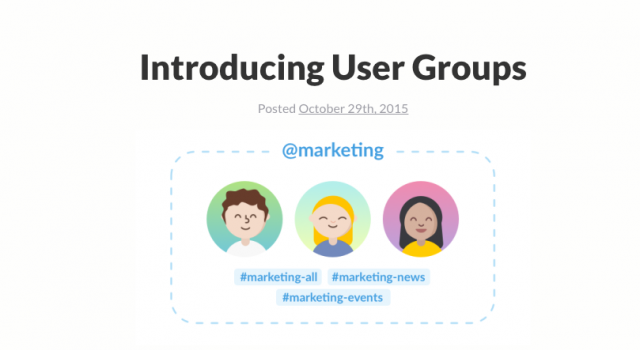 Slack-User-Groups