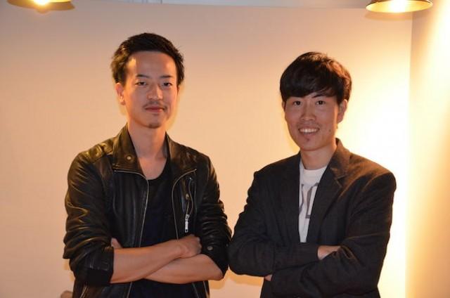 COO 佐野貴之さん(左)と CEO 高橋慶治さん(右)
