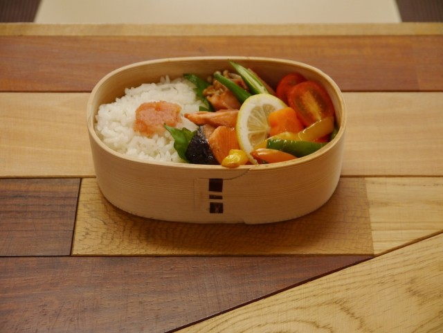 菊池さん作のお弁当