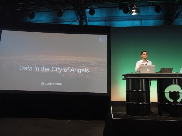 ロサンゼルス市のCDO(Chief Data Officer)を勤めていたAbhi Nemani氏。