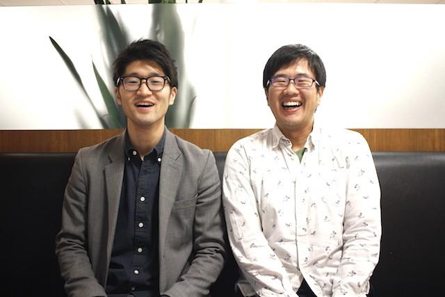 左:Bizcast代表取締役の渡邉 拓氏 右:GMO TECH 菅野鉄平氏