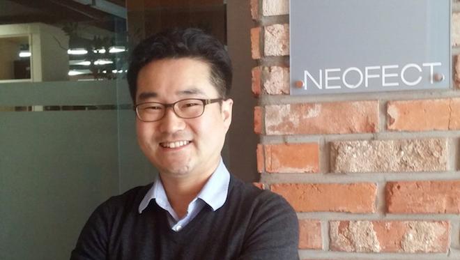 NEOFECTのCEO、Hoyoung Ban氏