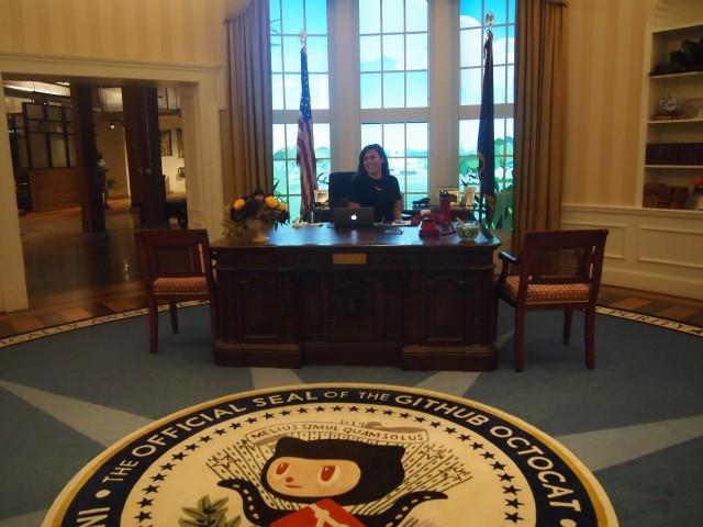 GitHub-Office-white-house
