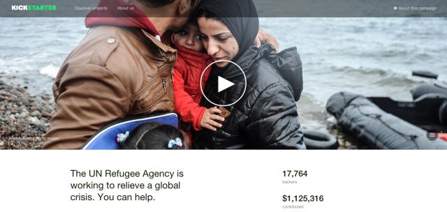 Syrian-refugee-Kickstarter-campaign