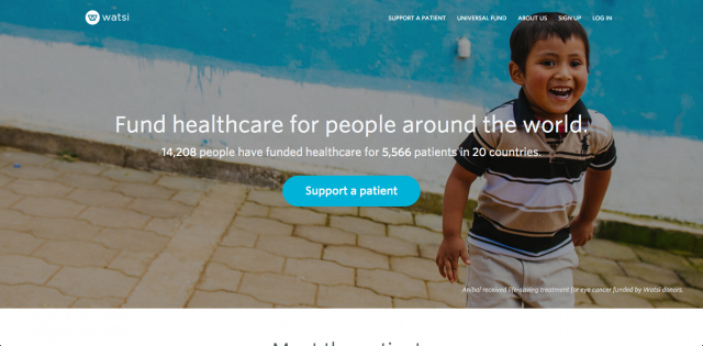 Watsi-website